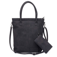 Zebra Trends Natural Bag Kartel Rits Black