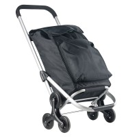 CarryOn Shopping Cruiser Stairs Climber Black