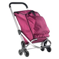 CarryOn Shopping Cruiser Stairs Climber Fuchsia