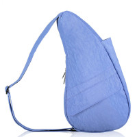 The Healthy Back Bag The Classic Collection Textured Nylon S Periwinkle