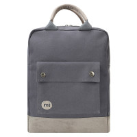 Mi-Pac Tote Rugzak Canvas Charcoal