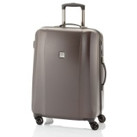 Titan Xenon Deluxe 4 Wheel Trolley M Brown