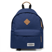 Eastpak Padded Pak'r Laptop Rugzak Into Tan Navy