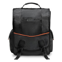 "Everki Urbanite Vertical Laptop Messenger 14.1"" Black"