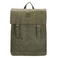 "Enrico Benetti Ardèche Backpack 13"" Olijf"