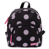 Zebra Trends Girls Rugzak Glitter Dots Soft Pink