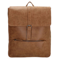 "Enrico Benetti Kate Backpack 15"" Camel"