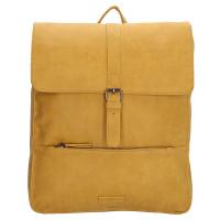 "Enrico Benetti Kate Backpack 15"" Okergeel"