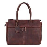"Burkely Antique Avery Laptopbag 15.6"" Brown 698856"