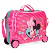 Disney Rolling Suitcase 4 Wheels Minnie Happy Helpers