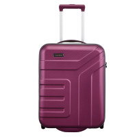 Travelite Vector 2 Wheel Trolley S Plum