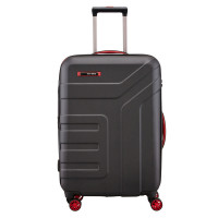 Travelite Vector 4 Wheel Trolley M Expandable Black