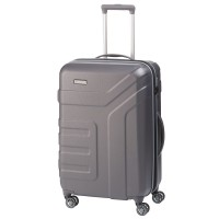 Travelite Vector 4 Wheel Trolley M Expandable Anthracite