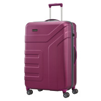 Travelite Vector 4 Wheel Trolley L Plum