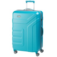 Travelite Vector 4 Wheel Trolley L Turquoise