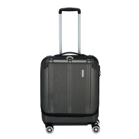 Travelite City 4 Wheel Business Trolley Front Opening M Antraciet
