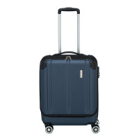 Travelite City 4 Wheel Business Trolley Front Opening S Navy