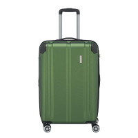 Travelite City 4 Wheel Trolley M Expandable Green