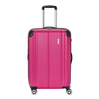 Travelite City 4 Wheel Trolley M Expandable Berry