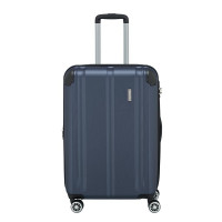 Travelite City 4 Wheel Trolley M Expandable Navy