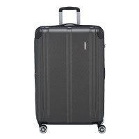 Travelite City 4 Wheel Trolley L Expandable Antraciet