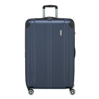 Travelite City 4 Wheel Trolley L Expandable Navy