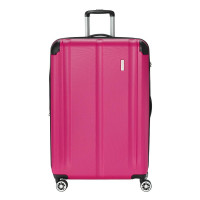 Travelite City 4 Wheel Trolley L Expandable Berry