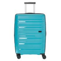 Travelite Kosmos 4 Wheel Trolley M Exp Aqua