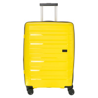 Travelite Kosmos 4 Wheel Trolley M Exp Yellow