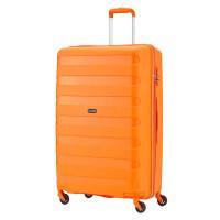 Travelite Nova 4 Wheel Trolley M Orange