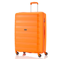 Travelite Nova 4 Wheel Trolley L Orange