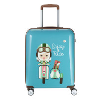 Travelite Lil Ledy 4 Wheel Trolley S Turquoise