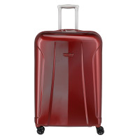 Travelite Elbe 4 Wheel Trolley L Red