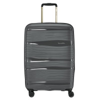 Travelite Motion 4 Wheel Trolley M Expandable Anthracite
