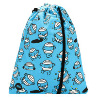 Mi-Pac Kit Bag Sporttas Mr Bump Blue
