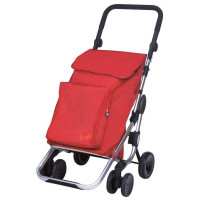 Playmarket Go Plus Boodschappentrolley Red