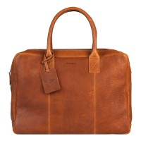 "Burkely Antique Avery Worker 15.6"" Cognac 797956"