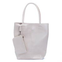 Zebra Trends Natural Bag Kartel Off White Print