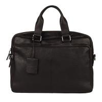 "Burkely Antique Avery Workbag 15.6"" Black"