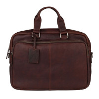 "Burkely Antique Avery Workbag 15.6"" Brown"