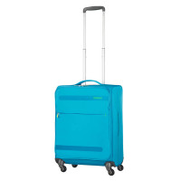 American Tourister Herolite Super Light Spinner 55 Mighty Blue