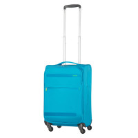American Tourister Herolite Super Light Spinner 55 Expandable Mighty Blue