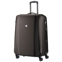 Titan Xenon Deluxe 4 Wheel Trolley M+ Expandable Brown
