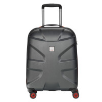 Titan X2 Flash 4 Wheel Trolley S Black Brushed