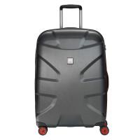 Titan X2 Flash 4 Wheel Trolley M+ Black Brushed