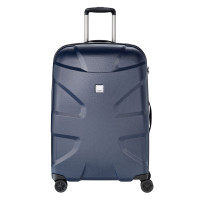 Titan X2 Flash 4 Wheel Trolley M+ Navy