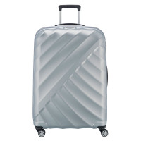 Titan Shooting Star 4 Wheel Trolley L Silver