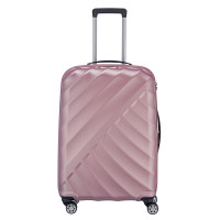 Titan Shooting Star 4 Wheel Expandable Trolley M Rose