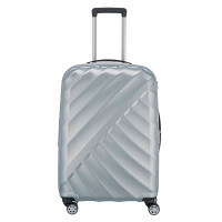 Titan Shooting Star 4 Wheel Expandable Trolley M Silver