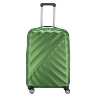 Titan Shooting Star 4 Wheel Expandable Trolley M Green